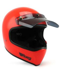 Roeg Peruna Helmet - Oompa Orange Profile