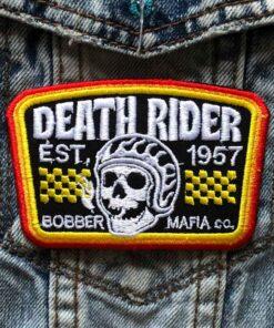 Skull Patch Death Rider 1957