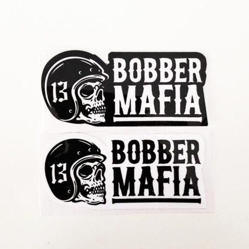 Skull Stickers - Bobber Mafia