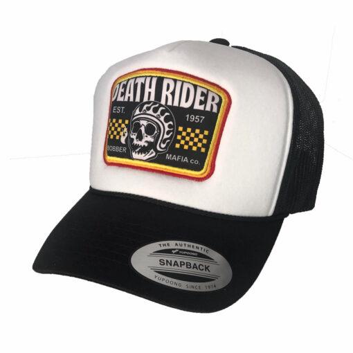 Bobber Mafia Trucker Cap - Left