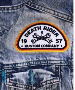 Death Rider Kustom Company - Patch Front