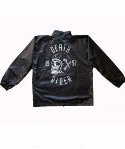 Death Rider Rain Suit Jacket Rear