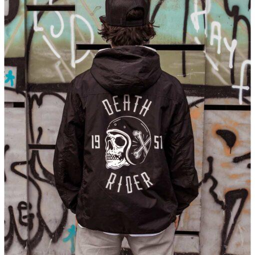 Death Rider Windbreaker Jacket - Boy Rear