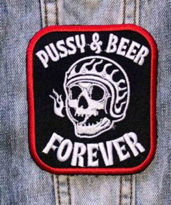 Pussy and Beer - Patch