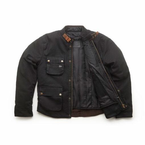 Fuel Division 2 Black Jacket - Front Cover