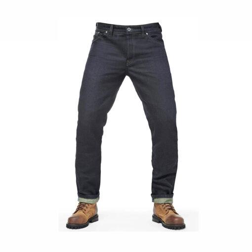 Fuel Greasy Denim Pants - Front