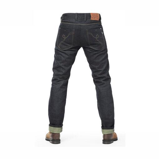 Fuel Greasy Denim Pants - Rear