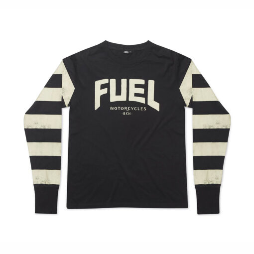 """Fuel """"Newstripes"""" Long Sleeve - Front"""