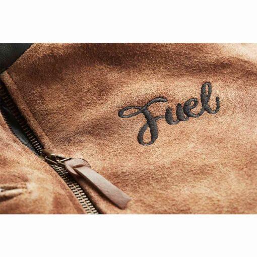 "Fuel ""Sidewaze"" Black Jacket - Logo"