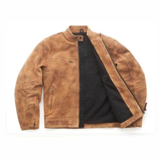 """Fuel """"Sidewaze"""" Tan Jacket - Front Open"""