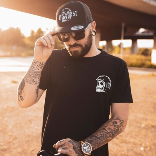 "Death Rider ""Thirteen"" T-Shirt Front"