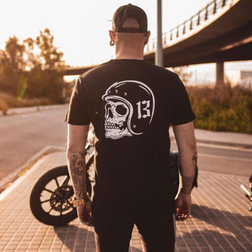 "Death Rider ""Thirteen"" T-Shirt Rear"